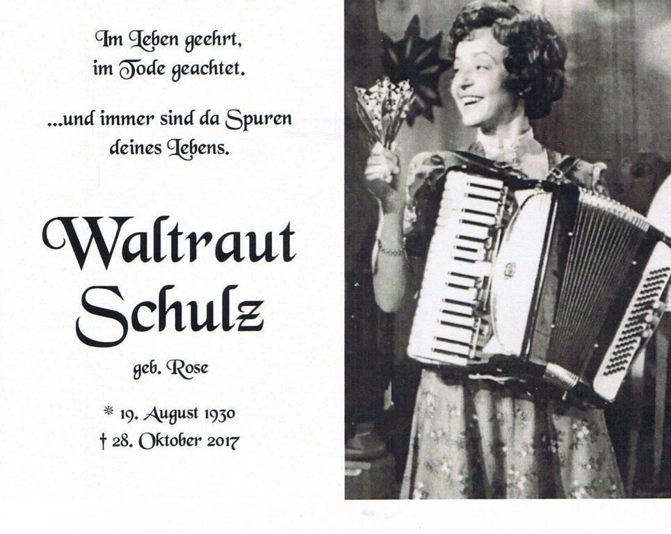 waltraut schulz